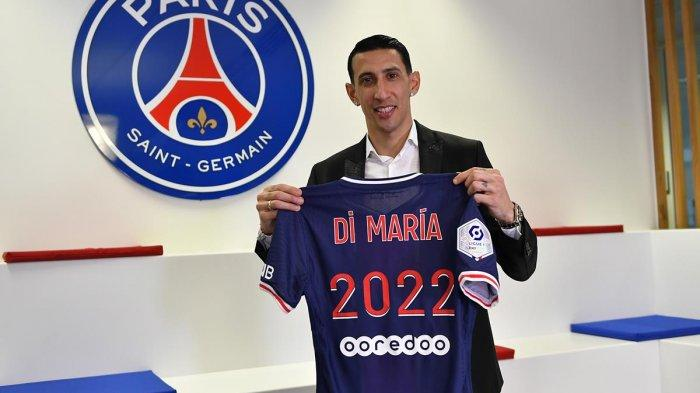 Di Maria Dihadiahi Perpanjangan Kontrak Bawa PSG Singkirkan Barca & Lolos 8 Besar Liga Champions