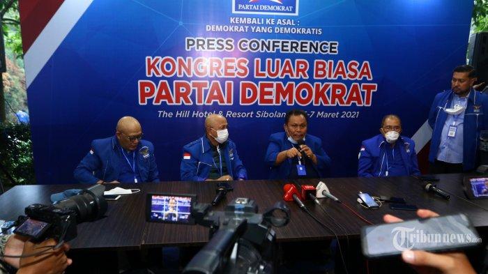 KLB Sumut Dilakukan Orang Luar & Tak Miliki KTA Soroti Pernyataan Mahfud MD Demokrat
